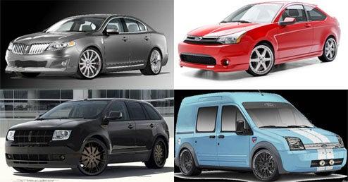 SEMA Getting Hit With Tsunami Of Custom Fords