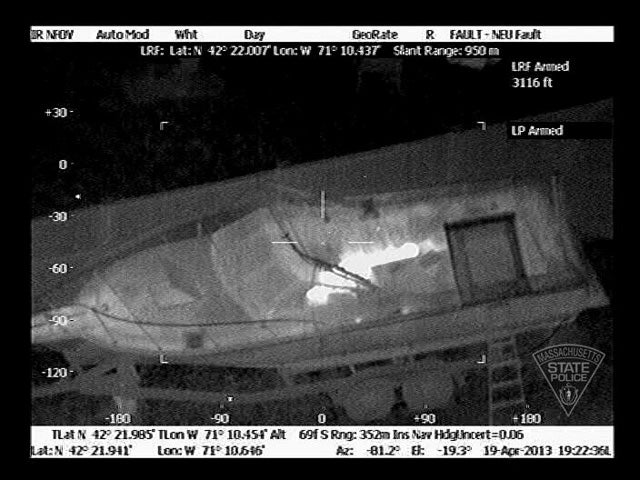 The Crazy Accurate Thermal Images That Saw Dzokhar Tsarnaev Through a Boat Tarp (Updated)