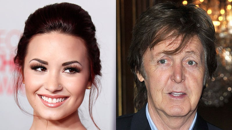 Demi Lovato Narrowly Avoids Killing Paul McCartney and Ruining Her Career