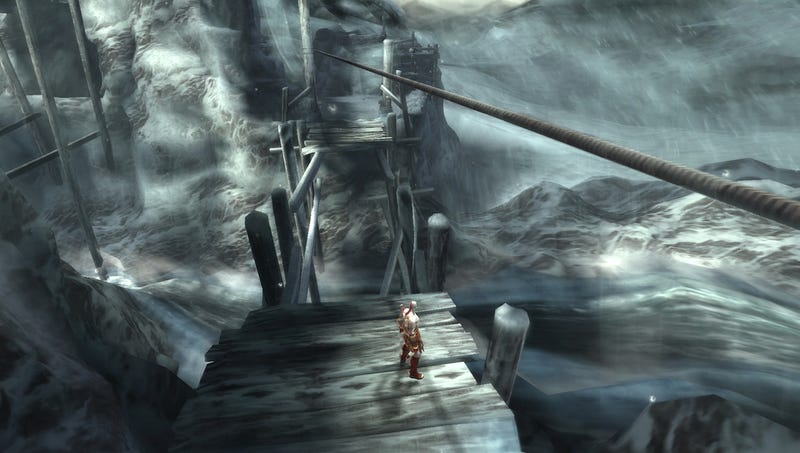 A First Look At PSP's God of War: Ghost of Sparta
