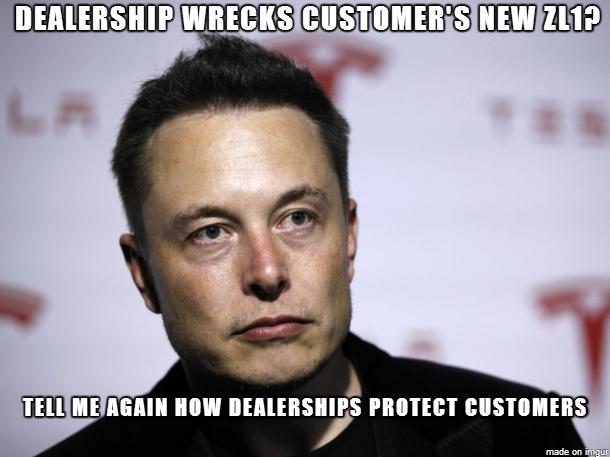 Condescending Tesla