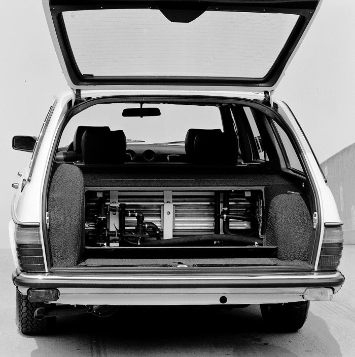 This 1980's Electric Mercedes Prototype Didn't Solve The Oil Crisis