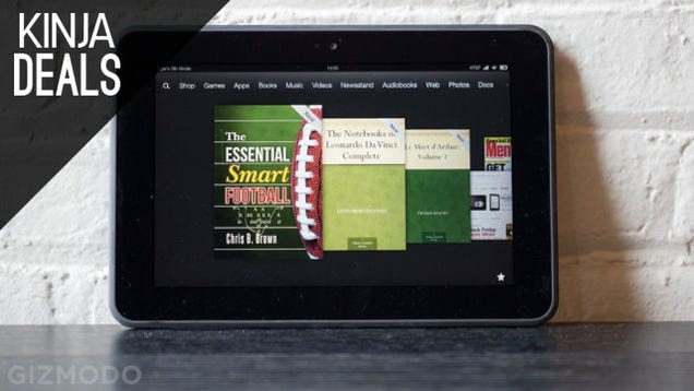 "Pick up an 8.9"" Kindle Fire HD for Only $129 Today"
