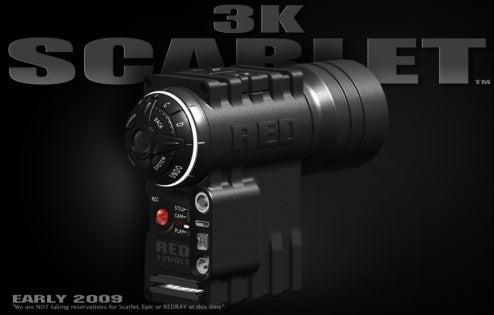 Red Scarlet 3K HD Pocket Pro Camera Under $3000