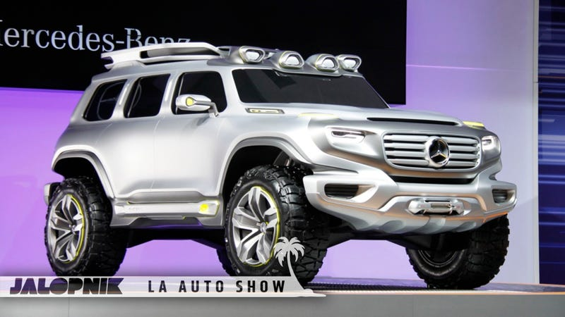 Mercedes-Benz Ener-G-Force Concept: Finally Something Worthy Of Replacing The O.G