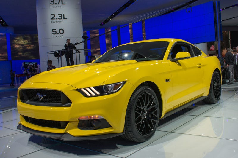 New Mustang looks great in yellow