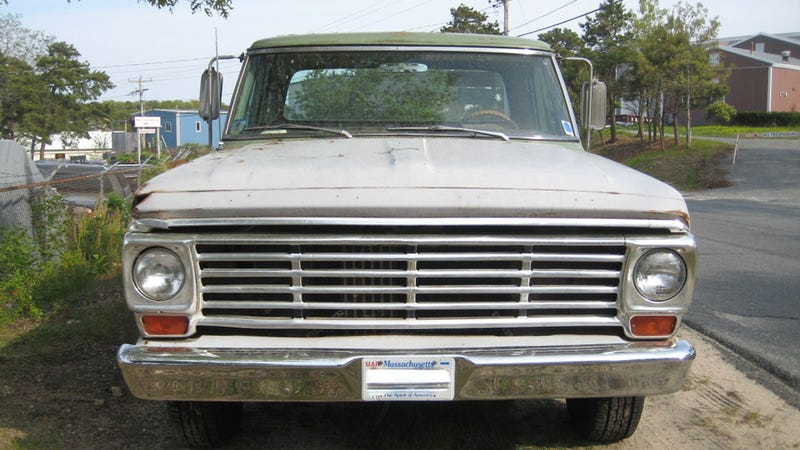Found Off The Street: 1967 Ford F100 Custom Cab