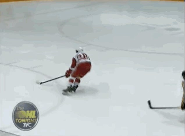 The Filthiest Goal You'll See All Year Is From The Ontario Hockey League