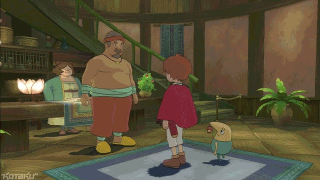 Stop, Ni No Kuni, You're Charming My Trousers Off