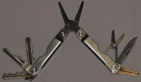 DIY Leatherman Key Mod