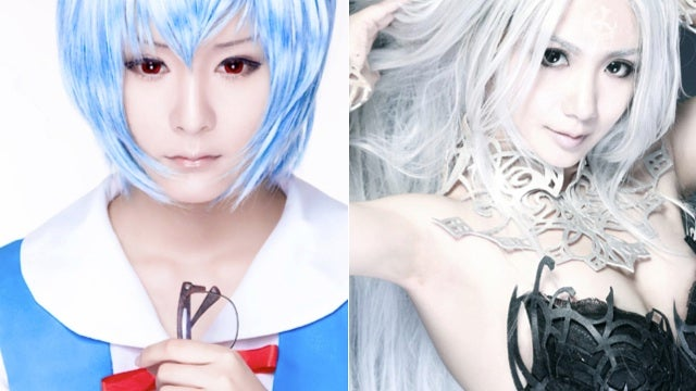 Giants of Chinese Cosplay Bring You Lineage II and Evangelion