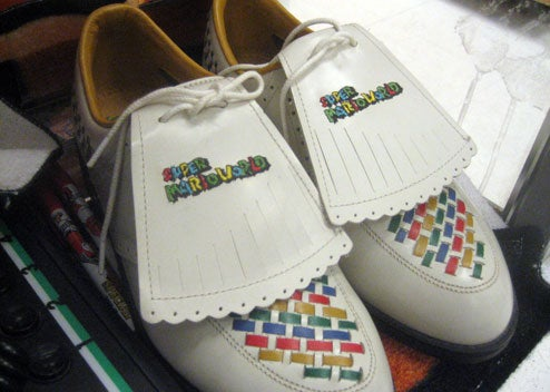 Super Mario World Golf Shoes Exist For Some Reason