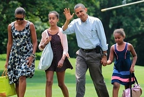 Obamas To Vacation on Gulf Coast For Like Two Seconds