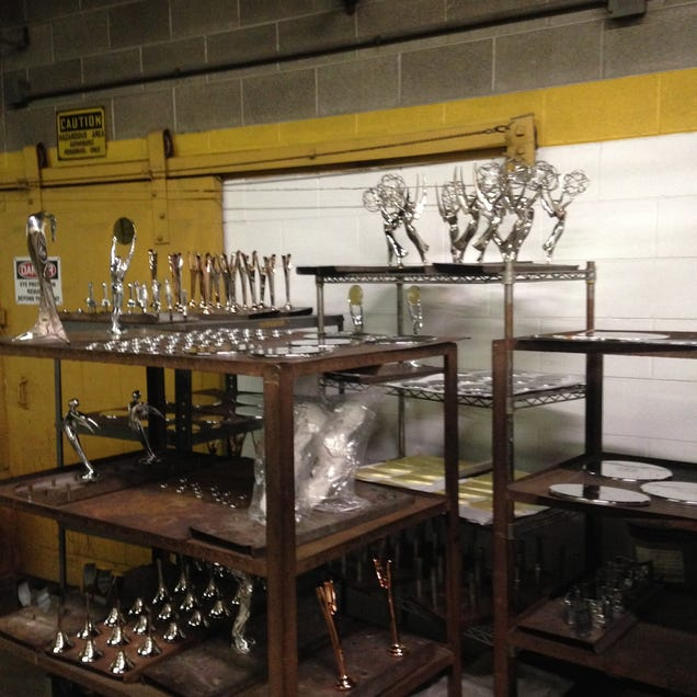 The Factories That Churn Out America's Most Iconic Trophies