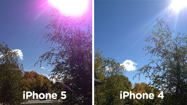 Apple Acknowledges iPhone 5 Camera Problem, Says You're Holding It Wrong