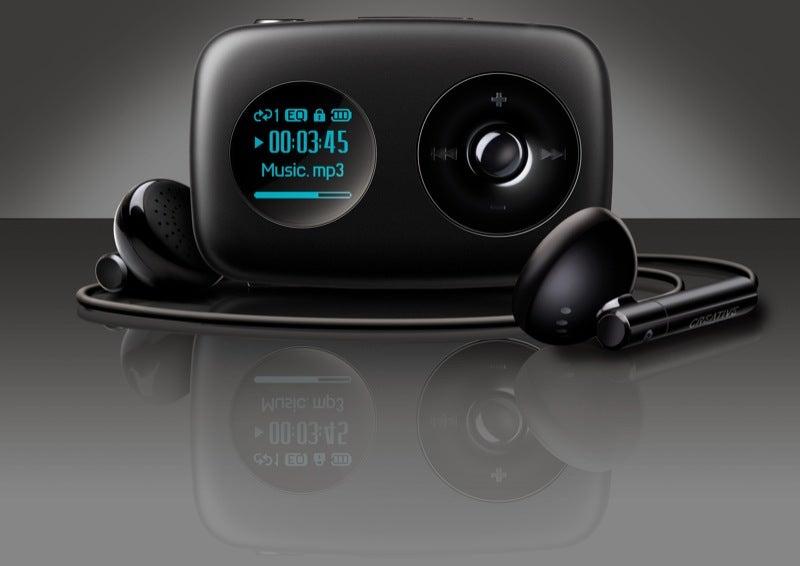Creative Zen Stone Upgrades Flaunt Integrated Speaker