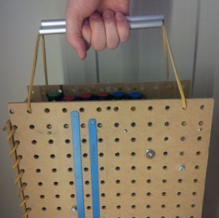 Portable Pegboard Storage System Lets You Create Anywhere