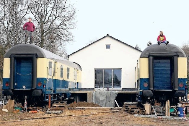 We Want to Move into These Buildings Made Out of Old Train Cars