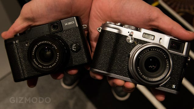 Fujifilm X100 and X20 Get New Faster Guts To Match Their Slick Design (Update: Hands-On)