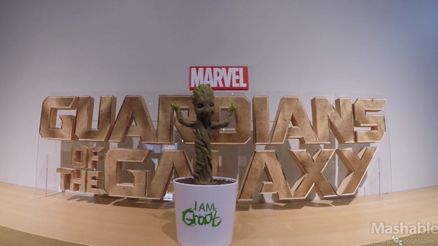 Here it is: Your official all-singing, all-dancing Baby Groot Toy!