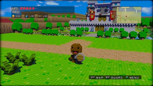 Sackboy Invades The Kingdom Of Dotnia