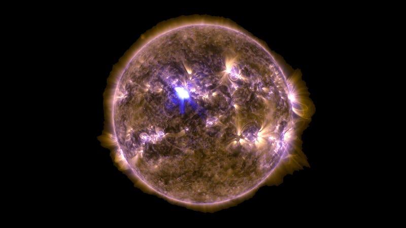 El Sol acaba de producir la erupción solar más masiva del año
