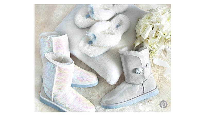 Oh God, No: Wedding Uggs
