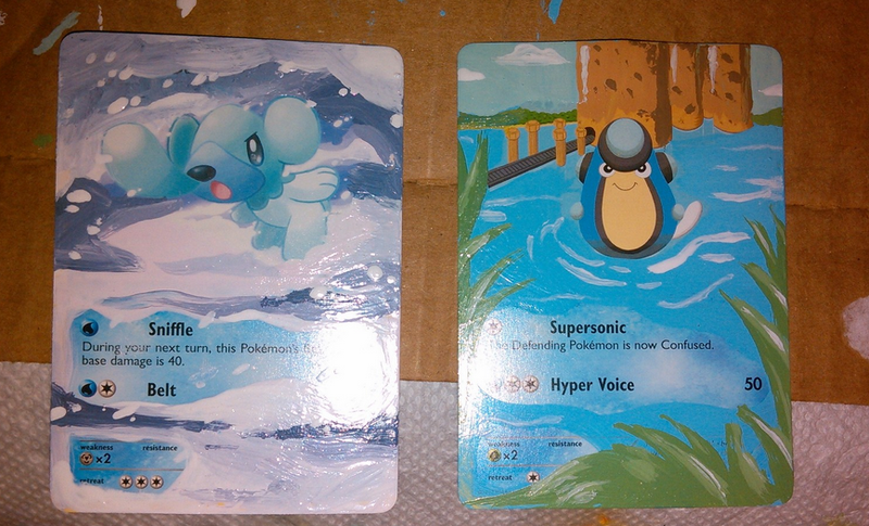 Behold, Improved Pokémon Cards