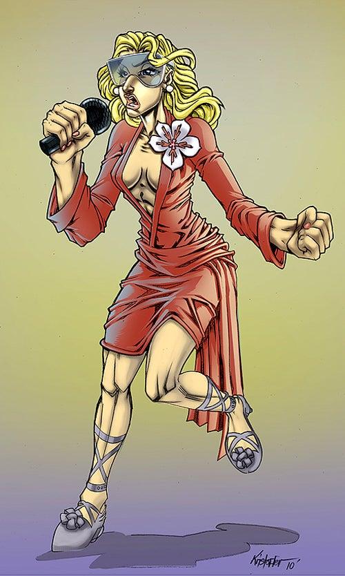 Good Idea, Gruesome Execution: The Lady Gaga Comic Book