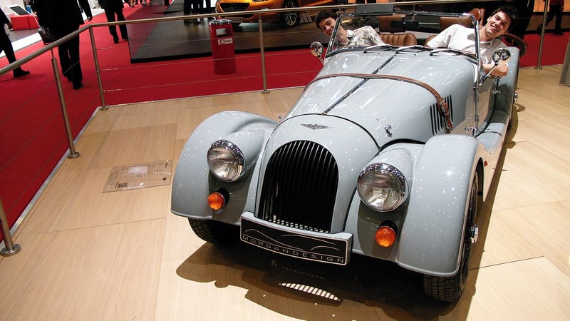 The Oldest New Car In Geneva Has Such A Great Vibe