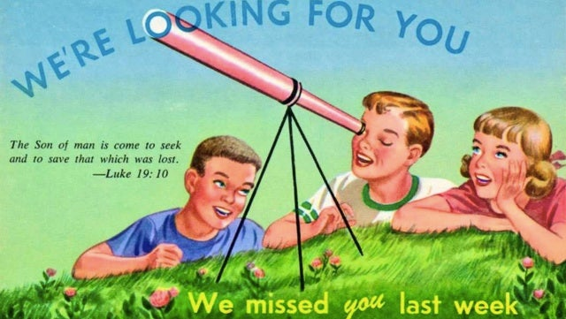 These vintage postcards would nowadays pass for threats by mail
