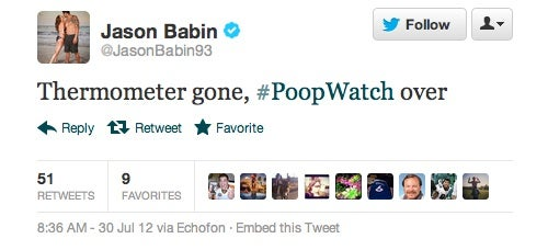 Jason Babin Was Cleared For An MRI Because He Finally Took A Shit