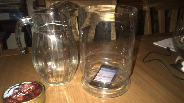 Amplify Your Phone's Speakers with a Glass Vase or Pitcher
