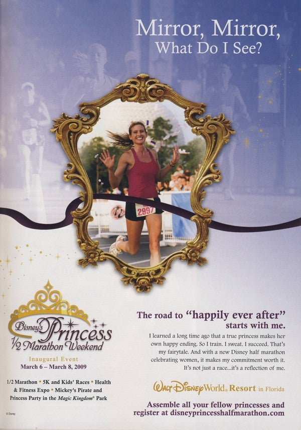 """The Road To 'Happily Ever After' Starts With Me"": Disney's Princess Half Marathon"