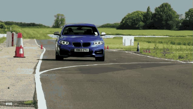 Watch The BMW M235i Take On The Porsche Cayman On Track