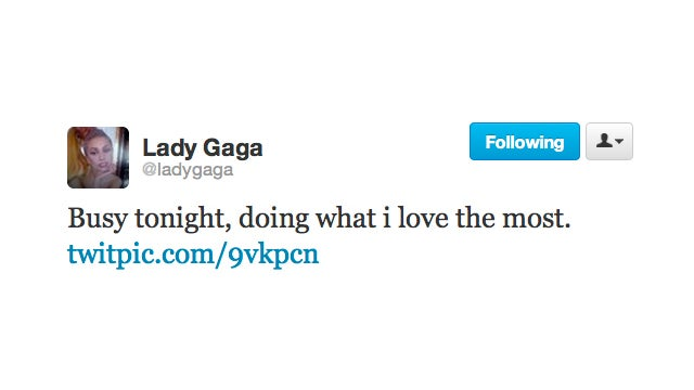 Lady Gaga Does What She Loves Most; Now If We Could Only Figure Out What Exactly That Is