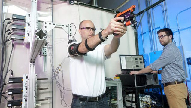 The Army Built a Robot To Help Soldiers Shoot Guns Better
