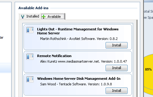 Five Great Add-Ins to Power Up Your Windows Home Server Console