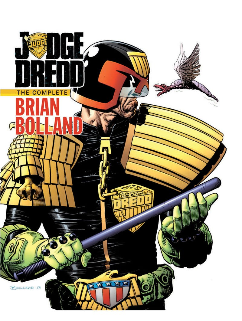 This Week's Comics: Which is Cooler, Nazi Werewolves or Nazi Supervillains? Plus Brian Bolland's Judge Dredd!