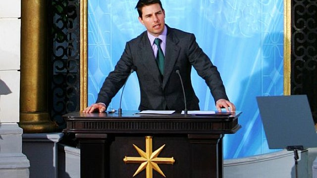 "In new Scientology tell-all book, Tom Cruise explains his ""special powers"""