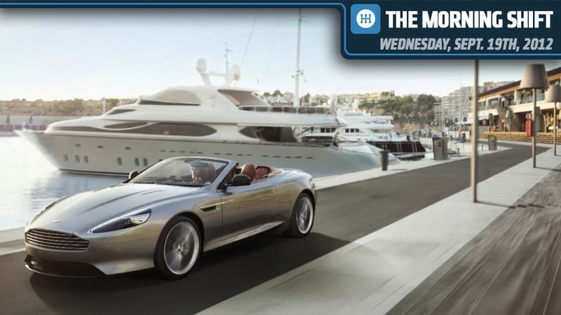 Aston Martin DB9 Will Power Up, VW Will Build Beetle R, And Ford's Mulally Will Stick Around