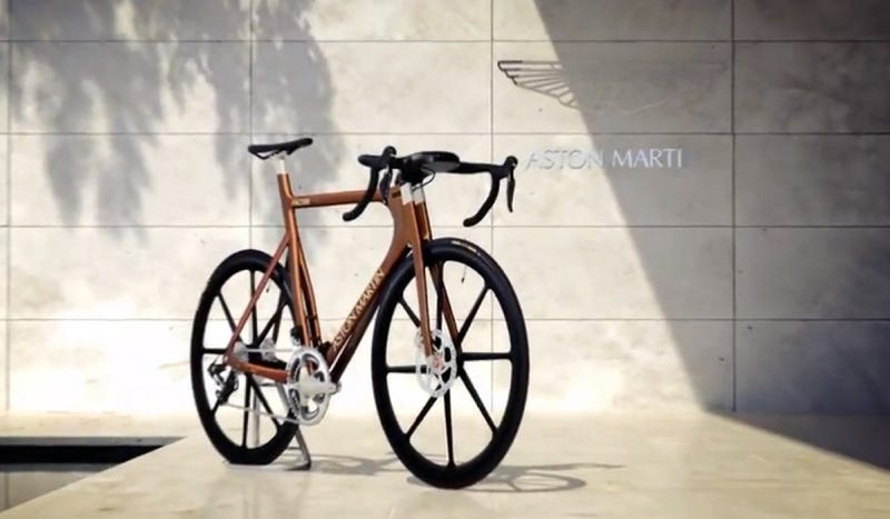This Aston Martin Bicycle Costs $39,000