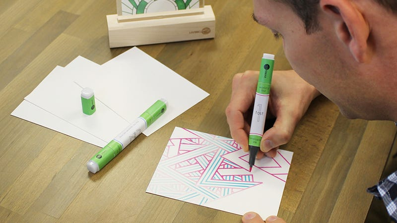 Ink Made From Living Algae Powers the World's First Chia Pet Pen
