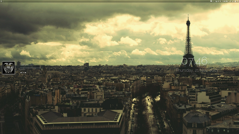 Eiffel Tower Desktop