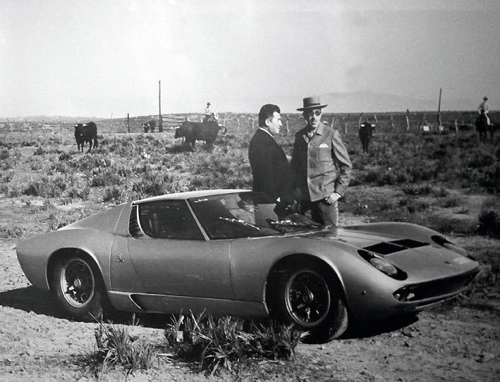 The Bulls Ferruccio Lamborghini Named The Miura After