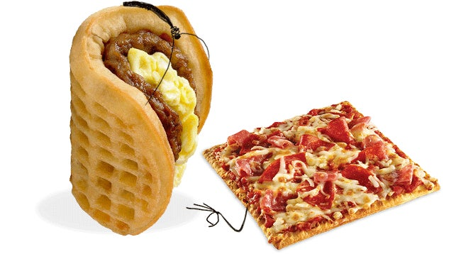 Flatizza Vs. Waffle Taco: A Fast-Food Smackdown For The Ages