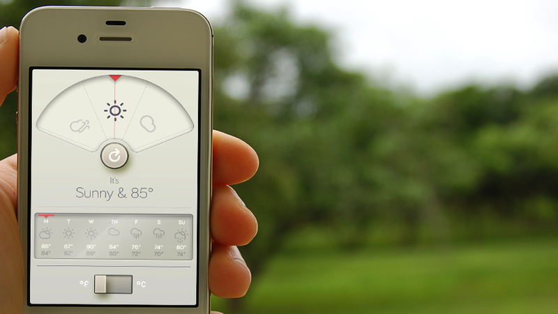 Would You Use This Weather App?
