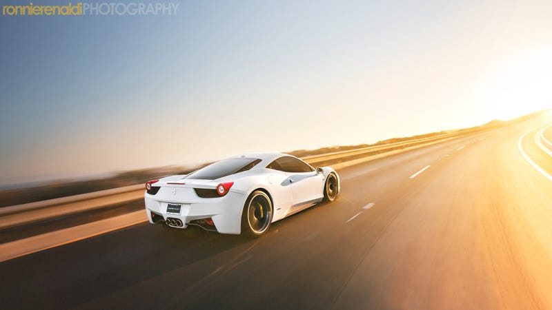 Your Ridiculously Awesome Ferrari 458 Wallpaper Is Here