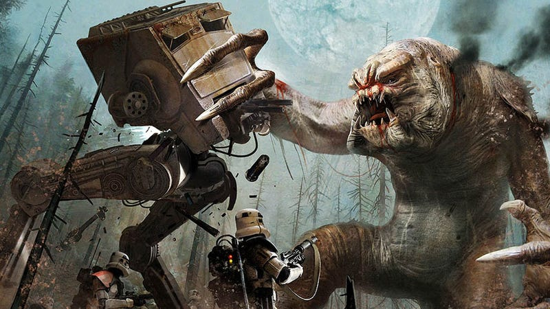 Rancor vs AT-ST Walker: Who Would Win?