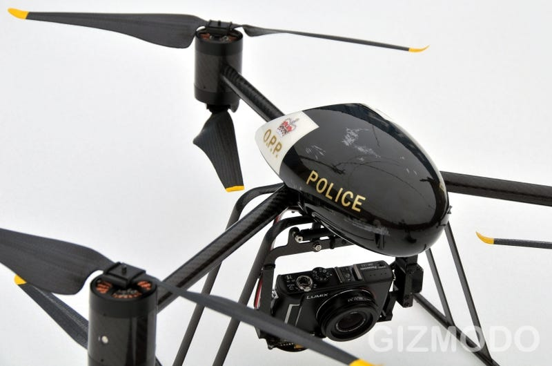The Draganflyer X6 UAV Police Edition